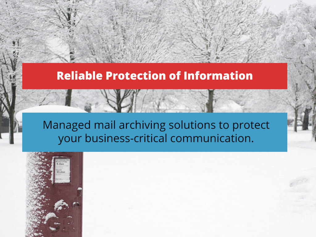 Compliant and Reliable Protection of Information
