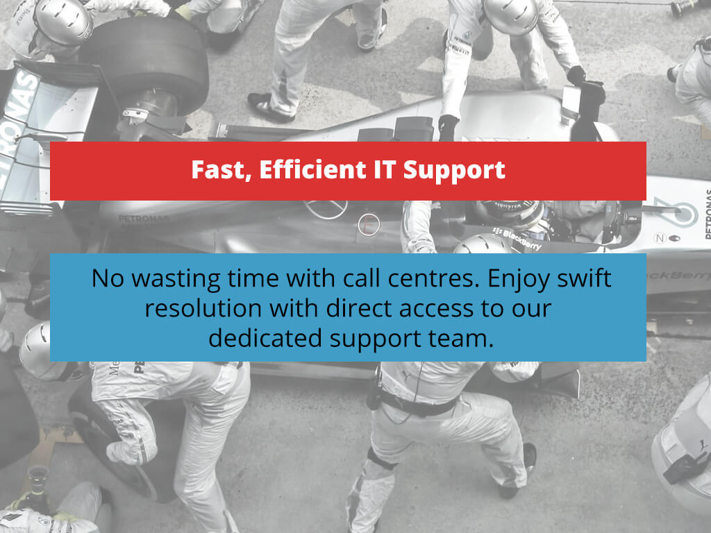 Fast, Efficient IT Support